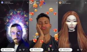 Классные маски в Инстаграм, топ лучших