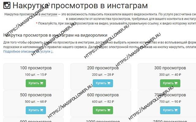 Накрутка просмотров в инстаграме: топ-4 сервиса накрутить просмотры в инсте