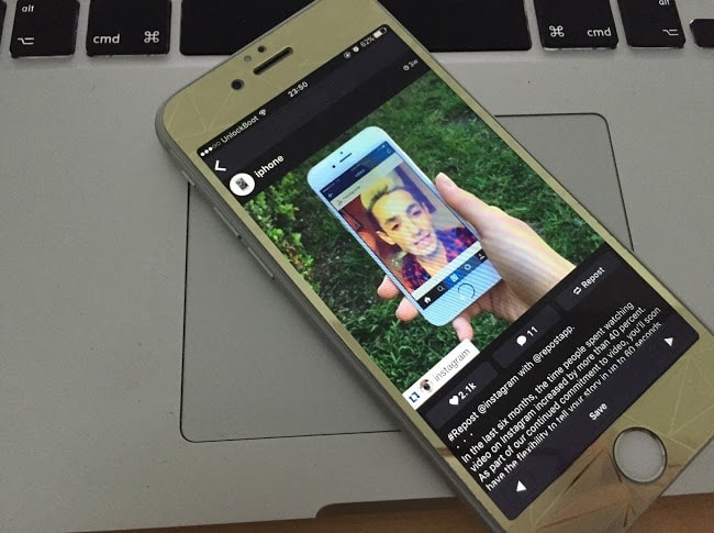 Сохраняем фото из instagram на iphone без потери качества