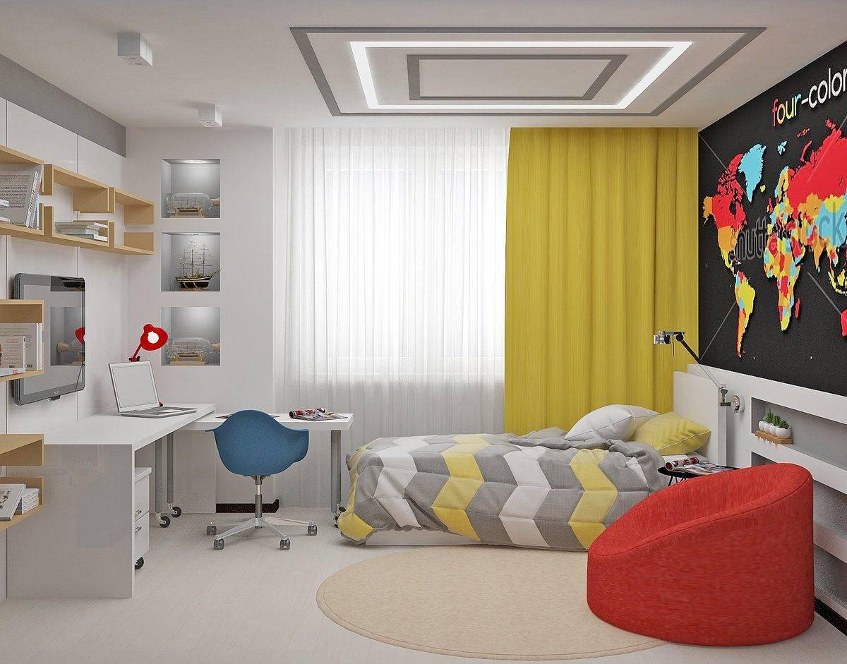 Комната для мальчика: 7 оригинальных дизайнерских интерьеров детской