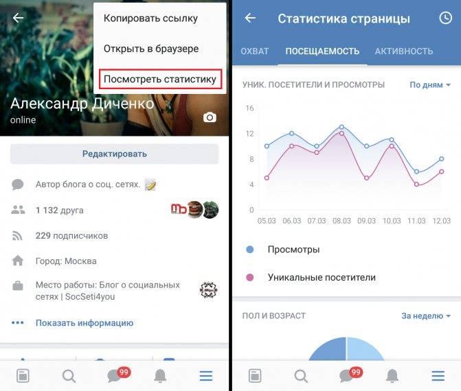 Как посмотреть статистику профиля в instagram