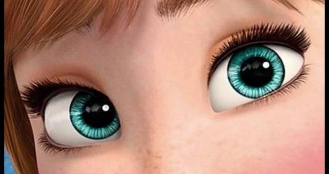 Глаза с Диснея