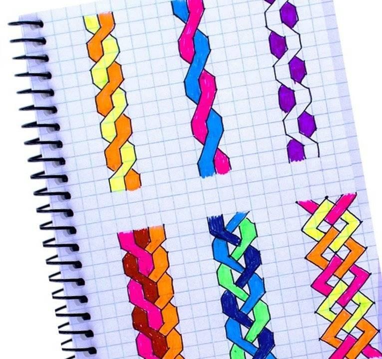 Инструкция по рисованию тик ток по клеточкам