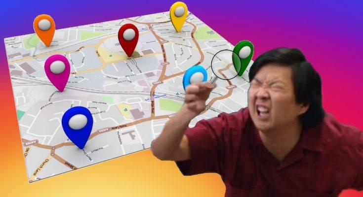 Как искать по геолокации в инстаграме>поиск по местоположению