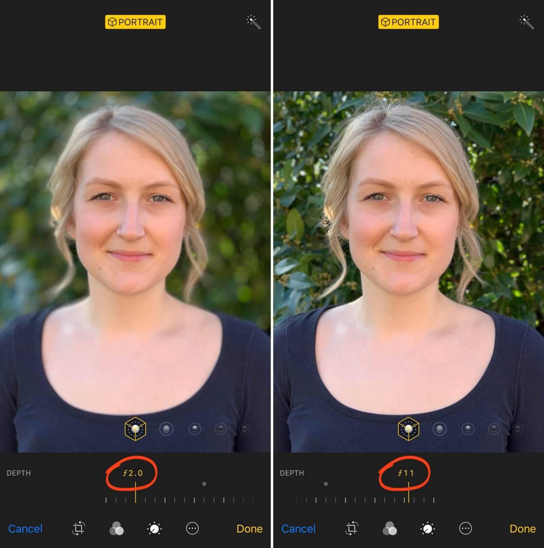 Инстаграм добавили новый портретный фокус режим в истории