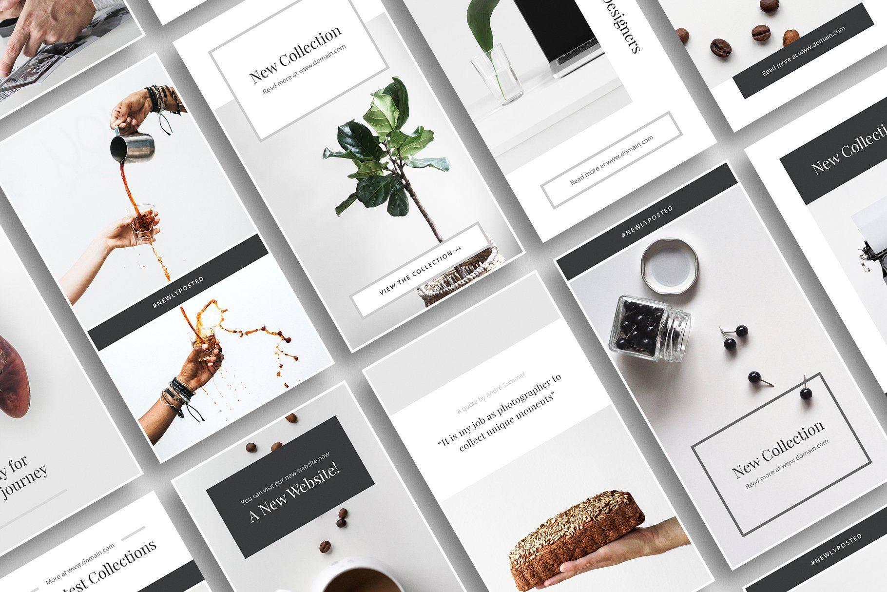 Топ-15 стильных дизайнов инстаграма для вдохновения