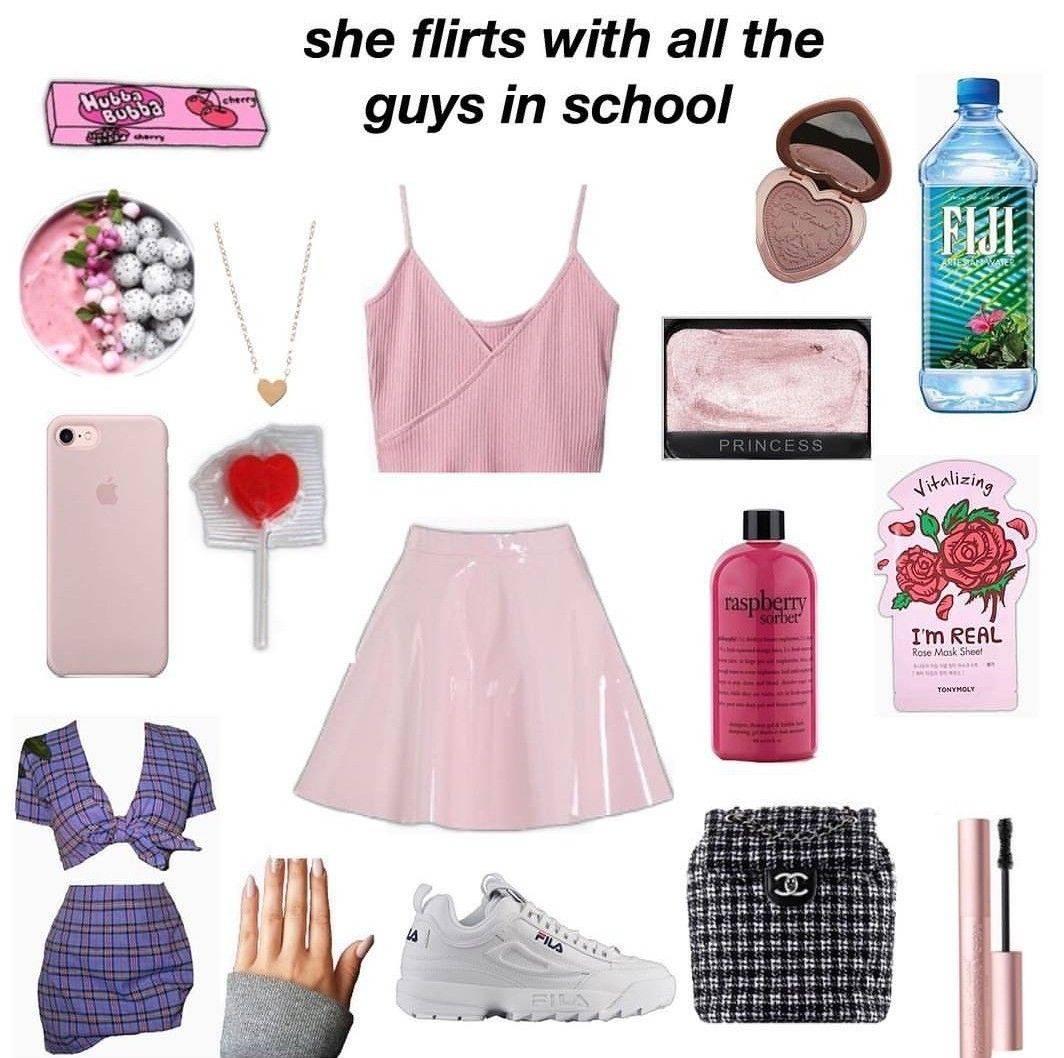 Необходимые наряды, аксессуары и макияж для девушки-подростка: tik tok style
