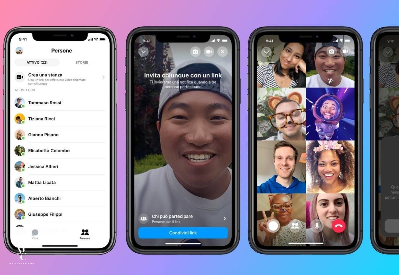 Instagram скоро включит функцию аудио и видеовызовов