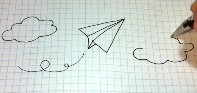 Прикольный рисунок медузы из тик тока: как ее нарисовать