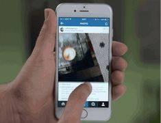 Как выложить gif в instagram