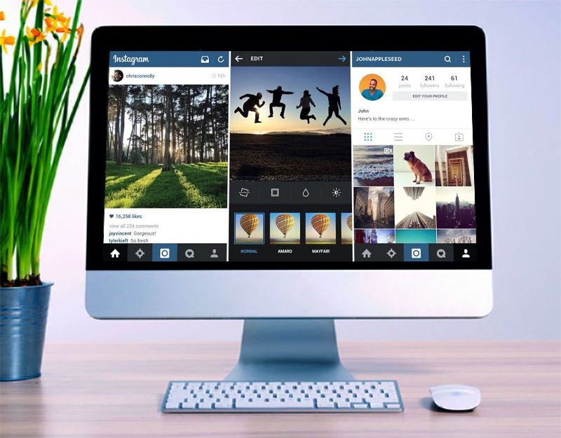 Как загрузить фото в инстаграм с компьютера - эмуляторы