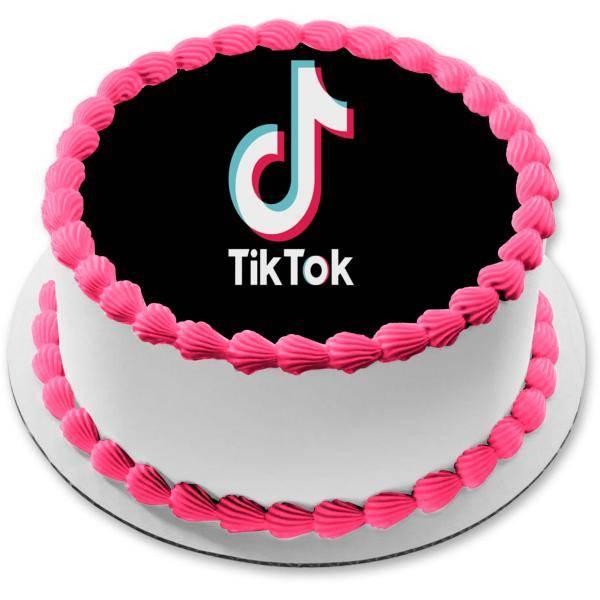 Как сделать эффект с тортом из тиктока? видео с помехами. ~