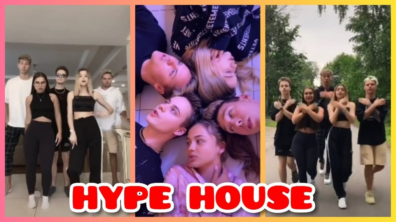 Тик ток хайп хаус (hype house): участники дома тиктокеров