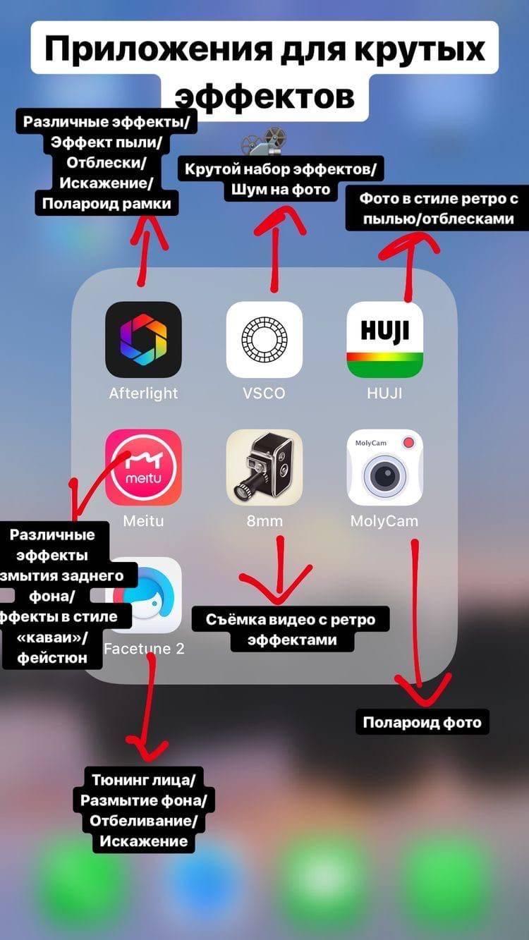 Приложения для создания эффектов и обработки видео в тик ток ✩ tikstar.ru