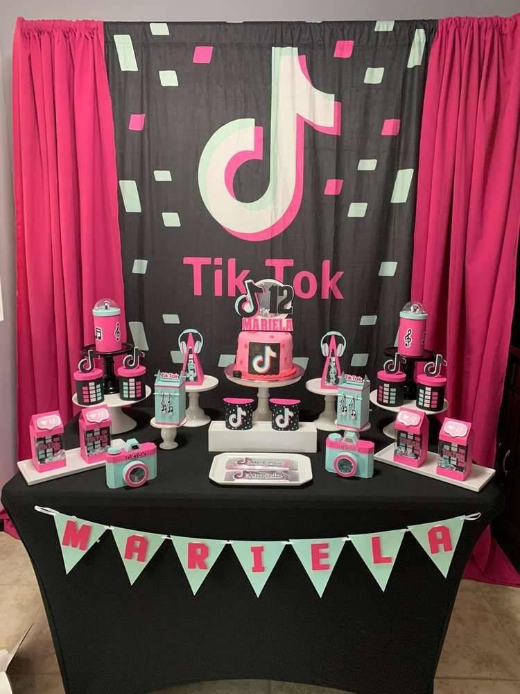 Торт тик ток на день рождения для девочки: как сделать
