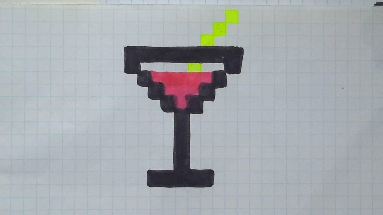 Красивые и простые рисунки по клеточкам в тетради для начинающих